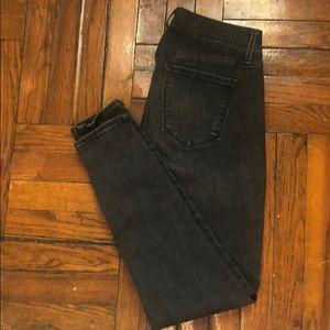 Gap True Skinny Jeans | Faded Black Wash